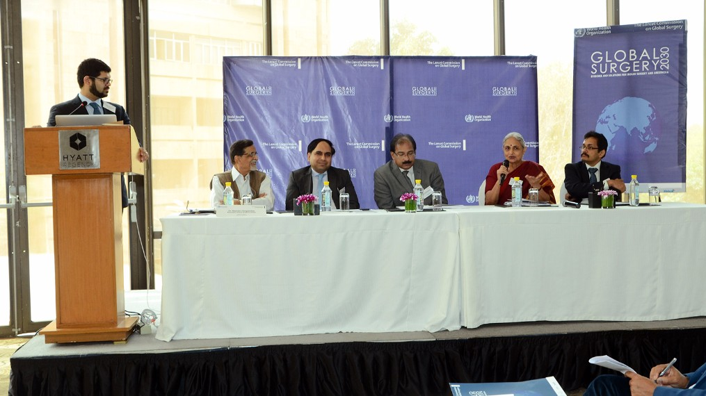Members of the Indian workforce panel discuss the challenges presented in the Karad Consensus Statement.
