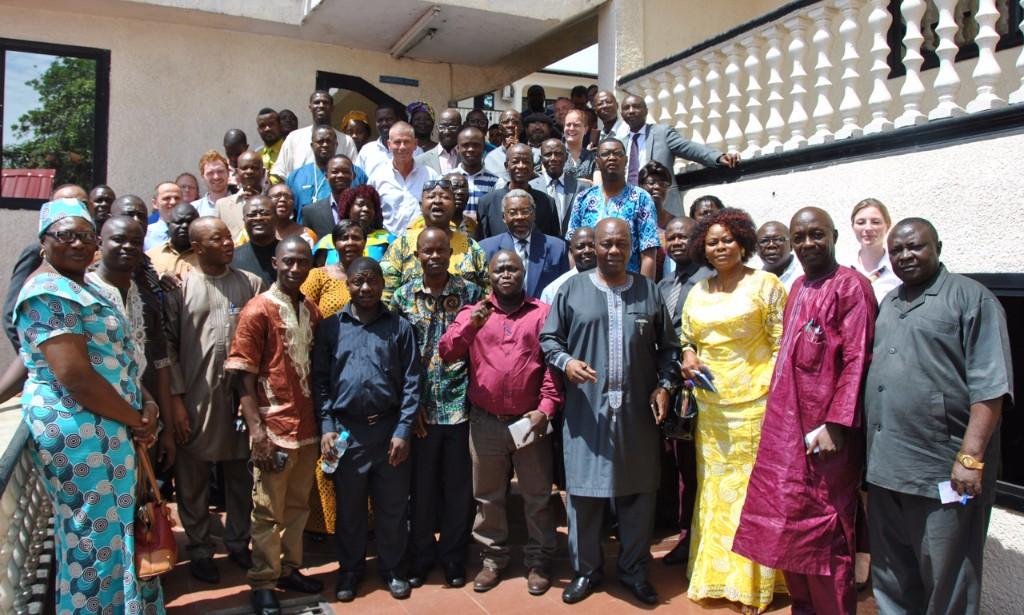 The Sierra Leone stakeholder group.
